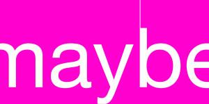 maybeバナー